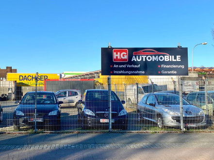 H.G Automobile am Arsterdamm - Autohändler / Fahrzeughändler / Kfz-Handel in Bremen-Kattenturm, Bremen Obervieland