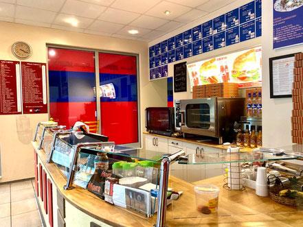 Baguettes, Crepes, Pizza, Salate, Aufläufe und Süßigkeiten, Eis (abgepackt) in Bremen-Kattenturm (Foto: 06-2020, Jens Schmidt)