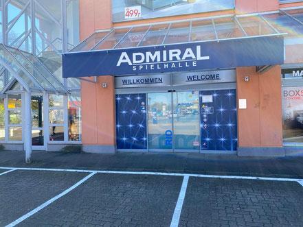 ADMIRAL-Spielhalle in Bremen-Habenhausen, Bremen Obervieland