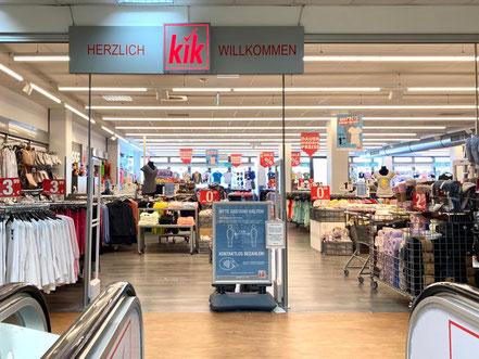 KiK im 1. Stock des Werder-Karree in Bremen-Habenhausen, Bremen-Obervieland