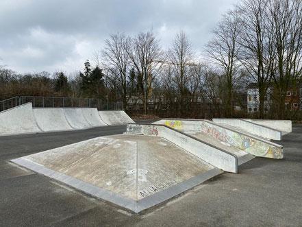 Auf 20.000 Quadratmetern können sich Kinder und Jugendliche im Funpark austoben (Foto: 03-2020, Jens Schmidt)
