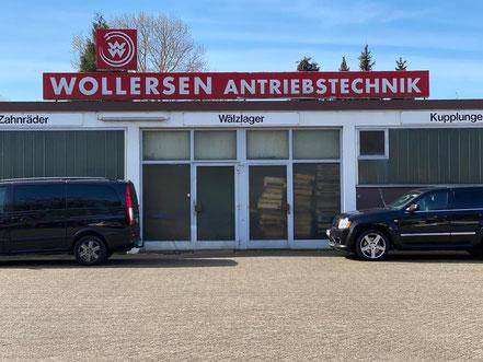 Betriebsgeländer der Firma Wollersen Antriebstechnik in Bremen-Kattenturm (Bremen Obervieland)