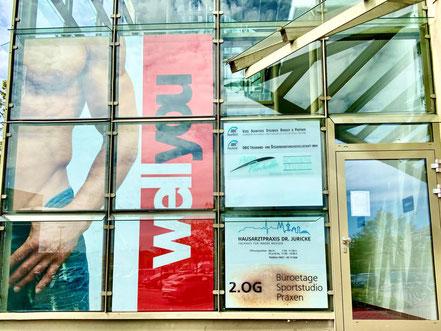 wellyou Eingangsbereich am Einkaufscenter Werder-Karree in Bremen-Habenhausen, Bremen Obervieland