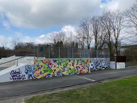 Skaterbahn im Funpark Bremen