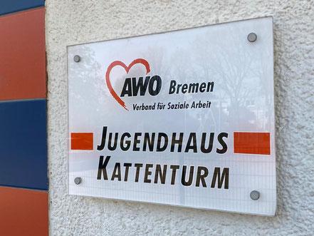 Jugendhaus / Jugendclub der AWO Bremen: Kinder- und Jugendeinrichtung mit offenem Angebot in 28277 Bremen-Kattenturm, Bremen Obervieland (Foto: 04-2020, Jens Schmidt)
