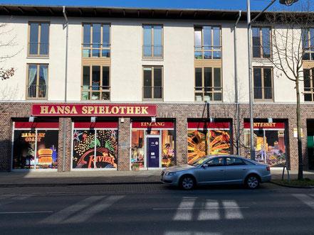 Hansa Spielothek in Bremen-Kattenturm. Spielhalle an der Alfred-Faust-Straße (Bremen-Obervieland)