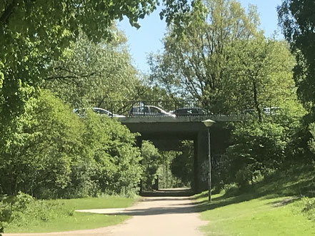 Unterführung der Habenhauser Brückenstraße am Krimpelsee