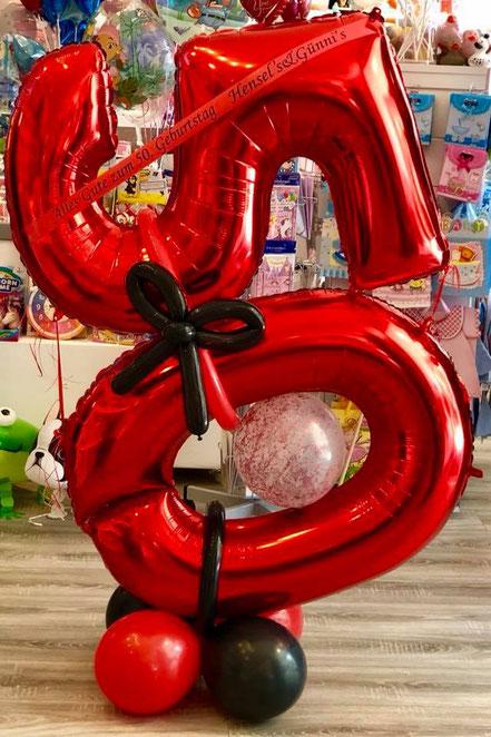 Zahlenballons und Folienballons in jeder Art und Größe von Lubaliba in Bremen-Kattenesch