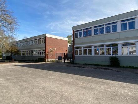 Schule an der Stichnathstraße in 28277 Bremen-Kattenturm, Bremen Obervieland (Foto: 04-2020, Jens Schmidt)