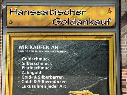 Hanseatischer Goldankauf in Bremen-Kattenturm, Passage Kattenturm (Bremen Obervieland)