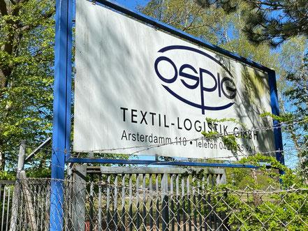 Ospig Textil-Logistik GmbH in Bremen-Arsten, Bremen Obervieland