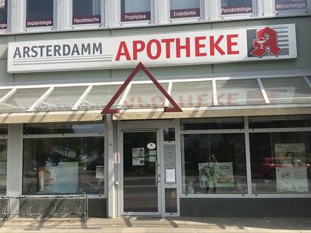 Arsterdamm Apotheke im Einkaufszentrum Arsterdamm, Bremen-Arsten