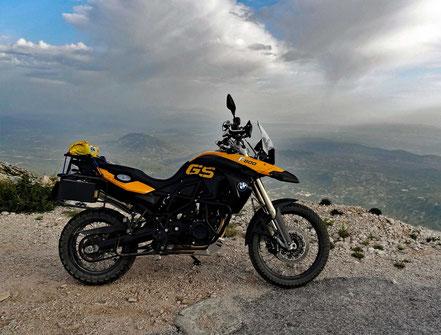 Motorrad Bild eines Motorrades der Marke BMW