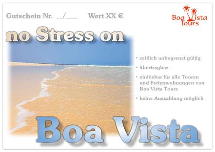 Gutschein  no Stress on Boa Vista mit Praia Santa Monica angeboten von Boa Vista Tours