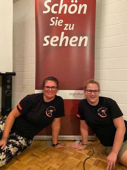 Nati Rütimann (links) hat das Amt als Präsidentin an Karin Rippstein (rechts) übergeben.