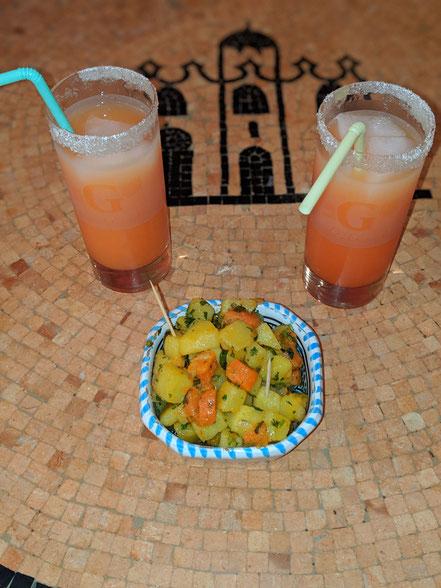 Cocktail de bienvenue sans alcool