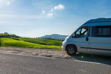 Toskana, Italien, Womo, Roadtrip, PösslWin2