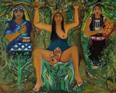 Paz Treuquil (2011), 50x40 cm.