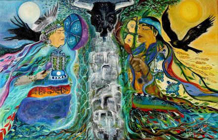 rewe, kultrun, cosmovision mapuche, machi