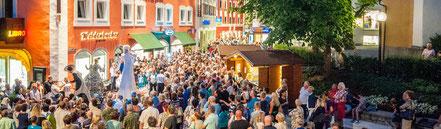 Olles Leiwand, die Austropop Band aus Freilassing beim stern:shoppen in Bad Hofgastein