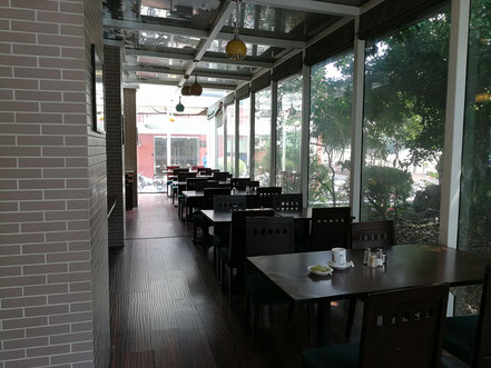 上海留学 華東師範大学に銀之春咖啡厅