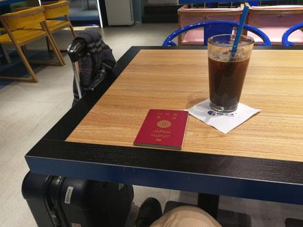 中国大連 遼寧師範大学 学内喫茶店 コーヒーの値段