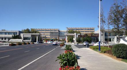 大連外国語大学のキャンパス