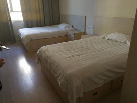華東師範大学  学生寮2号楼のスタンダードタイプ