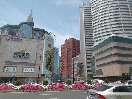中国北京大連上海留学 大連九州国際大酒店 位置