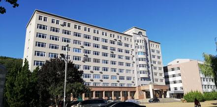 遼寧師範大学 国際教育学院の建物
