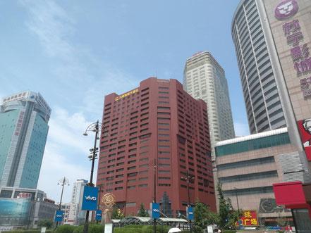 中国北京大連上海留学 大連九州国際大酒店