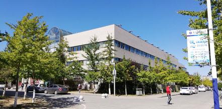大連外国語大学のキャンパス 総合楼
