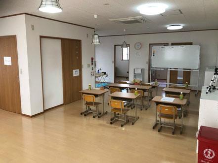 バンブーハットベイビーを行う深谷上野台教室