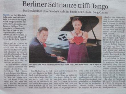 Berliner Schnauze trifft Tango