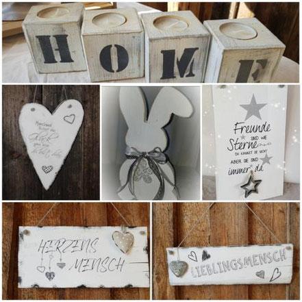 Geschenkartikel aus Holz