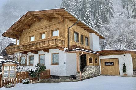 Ferienhaus Zimmereben - Winter