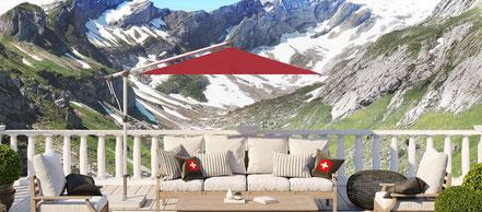 Glatz Sonnenschirm  Luxuriöses Design