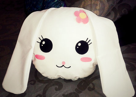 Kawaii Bunny Cushion