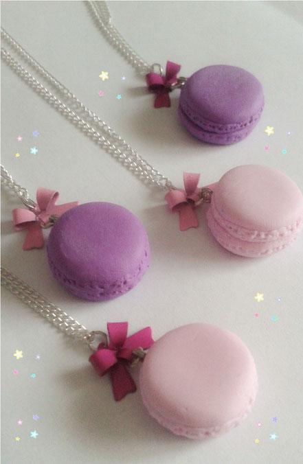 Macaron Necklaces
