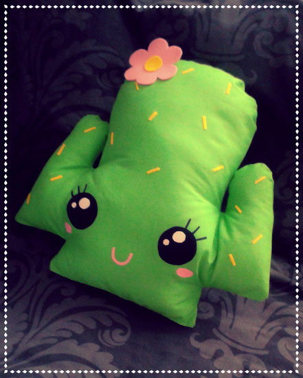 Kawaii Cactus Cushion
