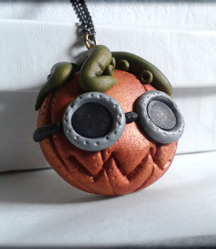 Steampunk Pumpkin Monster