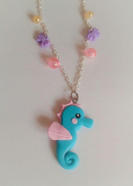 Kawaii Seahorse Necklace