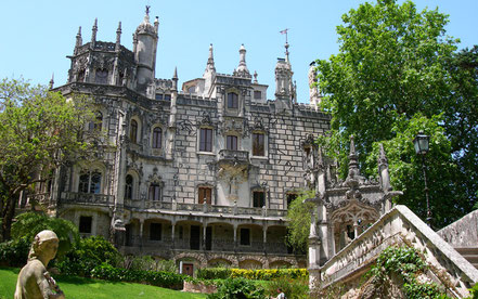 Sintra top things to do - Regaleira Palace
