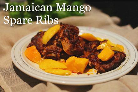 Rezept für Spare Ribs mit Mango-Marinade nach jamaikanischer Art