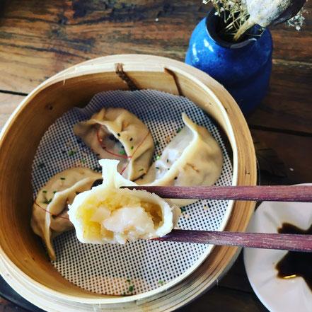 05 | Jiaozi, diesmal mit Garnelen & mehr