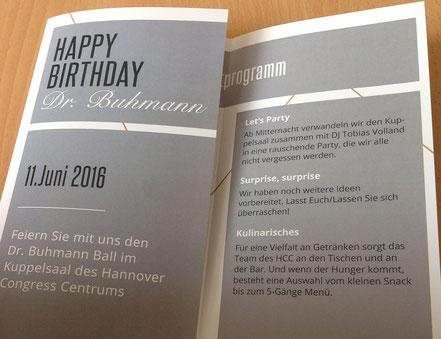 Einladung der Dr Buhmann Schule