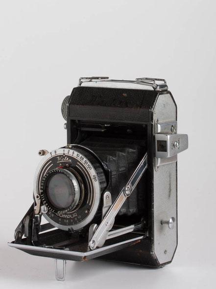 Weltaflex, E. Ludwig Meritar, 1:3,5/75mm, Vebur