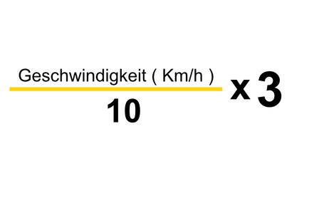 Formel vom Reaktionsweg
