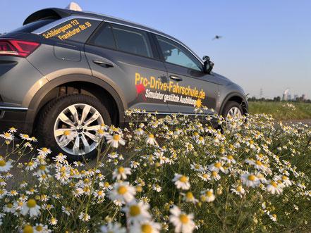 Unser Hyundai Kona als Fahrschulwagen