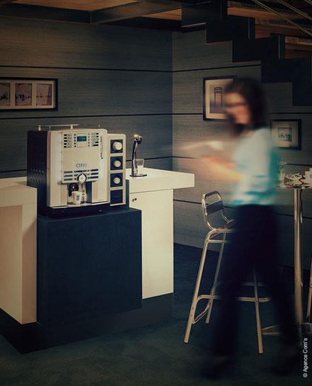 Station café créateur de corner café à Rennes